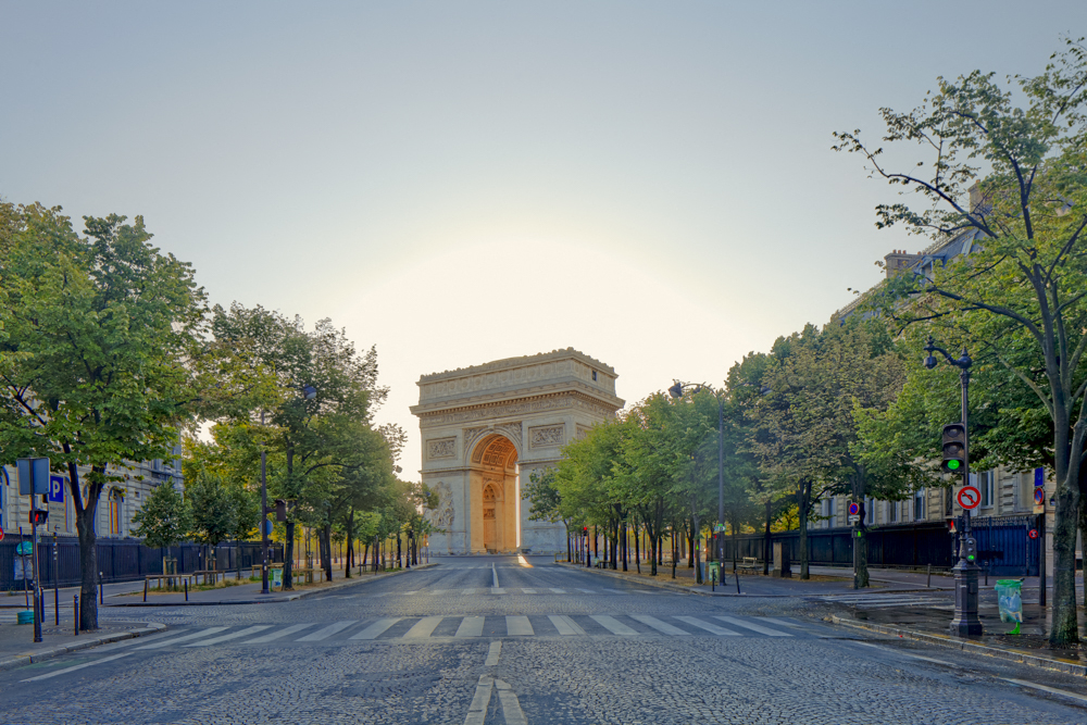 Arc de Triomphe, place Charles de Gaule, place de l'étoile, ave