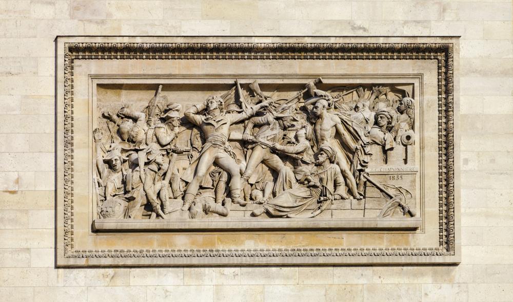 Place de l'Étoile, Arc de triomphe, La prise d'Alexandrie le 3