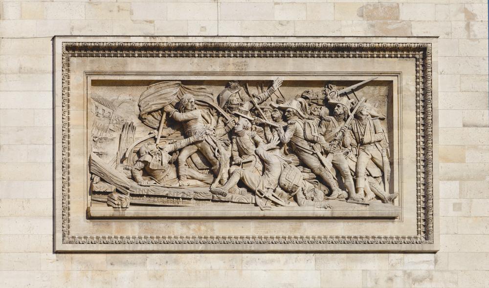 Place de l'Étoile, Arc de triomphe, Place de l'Étoile, Arc de