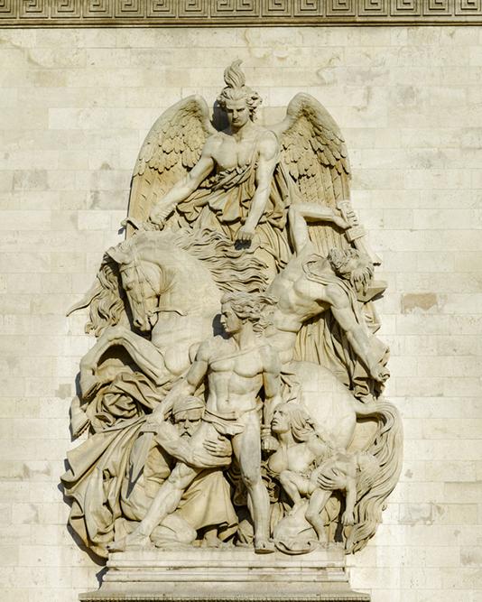 Place de l'Étoile, Arc de triomphe, La Résistance, Antoine Ét