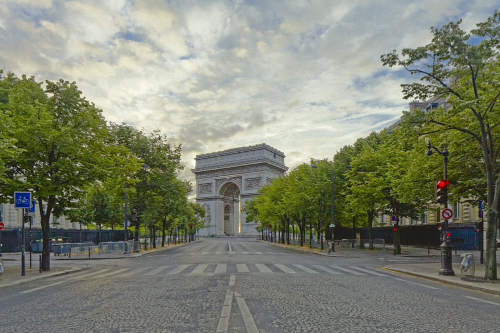 Avenue Victor Hugo, Place de l'Étoile, Arc de triomphe, Jean-Fr