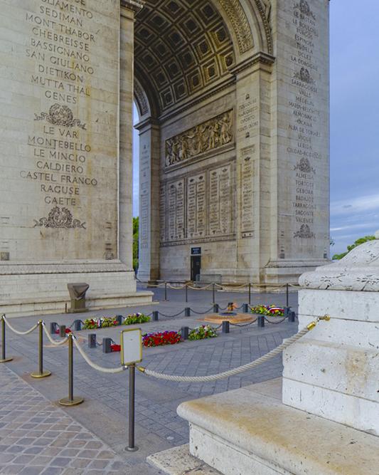 Arc de triomphe, [Jean-François-Thérèse Chalgrin], constructi