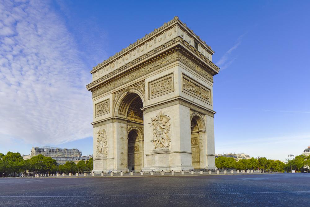 Place de l'Étoile, Arc de triomphe, [Jean-François-Thérèse C