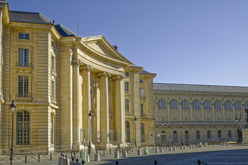 Faculté de Droit d'Assas, palce du Panthéon, Architecte J-I