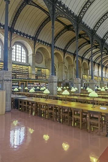 Bibliothèque Sainte-Geneviève, Place du Panthéon, Paris 75005