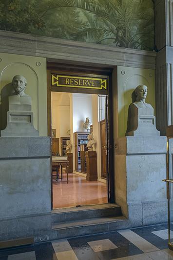 Bibliothèque Sainte-Geneviève, Henri Labrouste (architecte 180