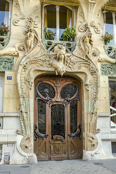 Art nouveau, avenue Rapp n°29, Jules Lavirotte (architecte 1864