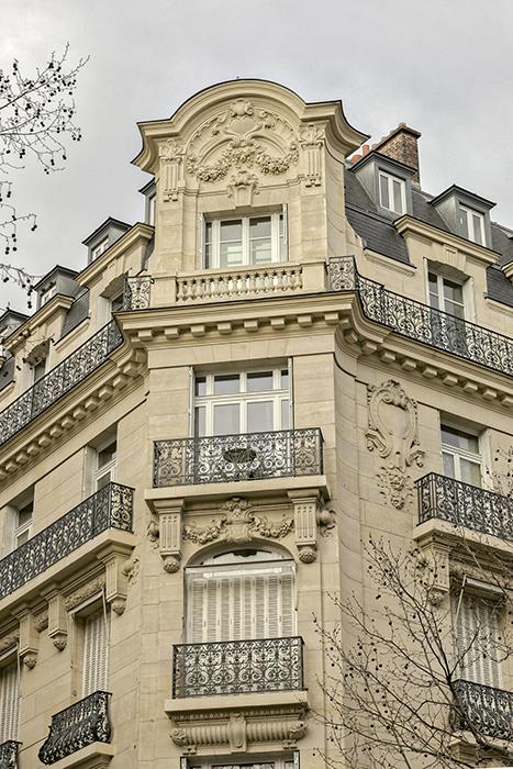 Boulevard Saint-Germain (201 Bis), Concours de façades 1910, Ga