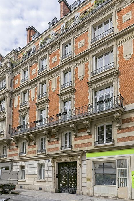 Concours de façades 1901, Alphonse Fiquet (architecte ????), Pa
