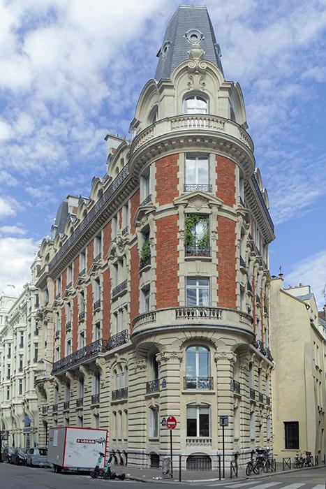 Concours de façades 1900, Édouard Perrone (architecte ????), P
