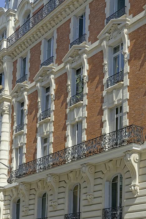 Rue Danton (3), Concours de façade 1900, Édouard Perrone (arch