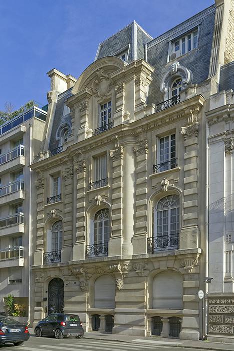 rue Octave-Feuillet (16), Concours de façades 1900, Edouard Arn