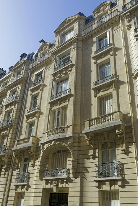 Concours de façade 1904), Paris 75016, Roger Bouvard (architect