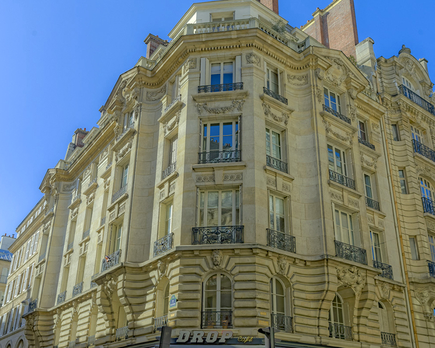 Rue de Bellechasse (36), Concours de façade 1904, Paris 75007,