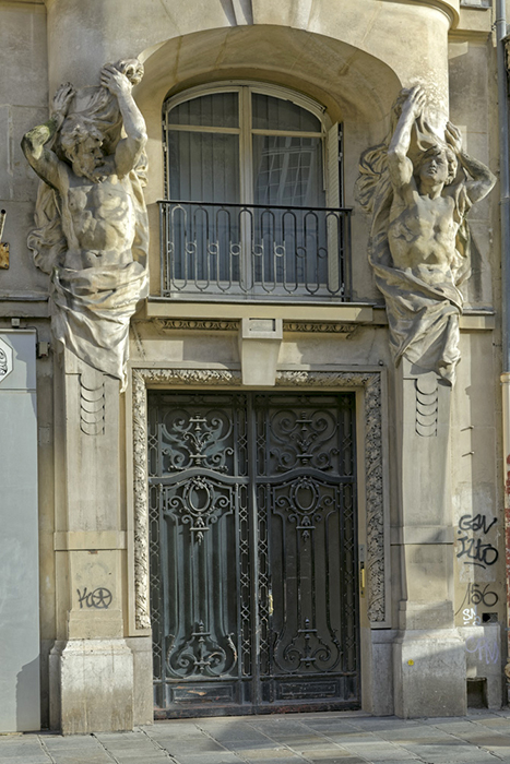 rue de Rivoli (48 bis), Concours de façades 1905, Auguste Garri