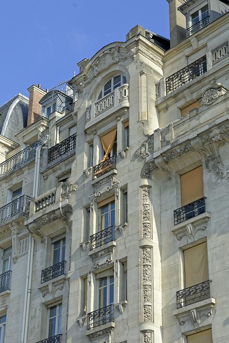 Quai de la Rapée (98), Concours de façades 1903, Paul Friesé