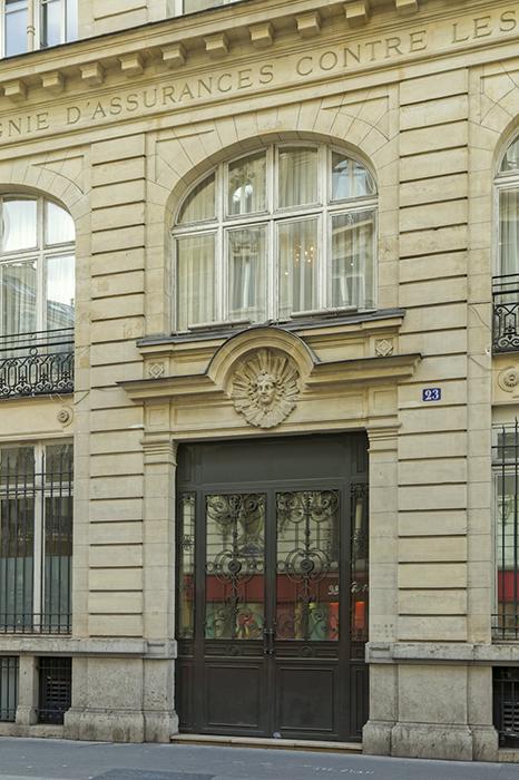 Rue de Mogador (23), Concours de façade 1902, Paris 75009, Char