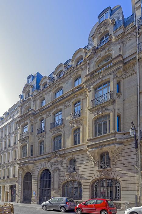 Concours de façades 1903, rue Saint Honoré (185), Paris 75001,