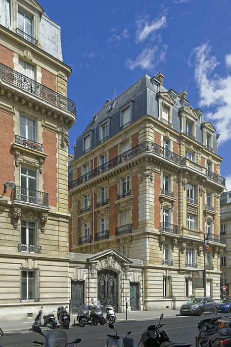 Concours de façade 1902, Paris 75017, Henry Delage (architecte