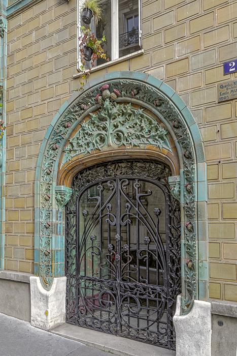 Rue Claude Chahut (9), rue Eugène Manuel (2), Concours de faça