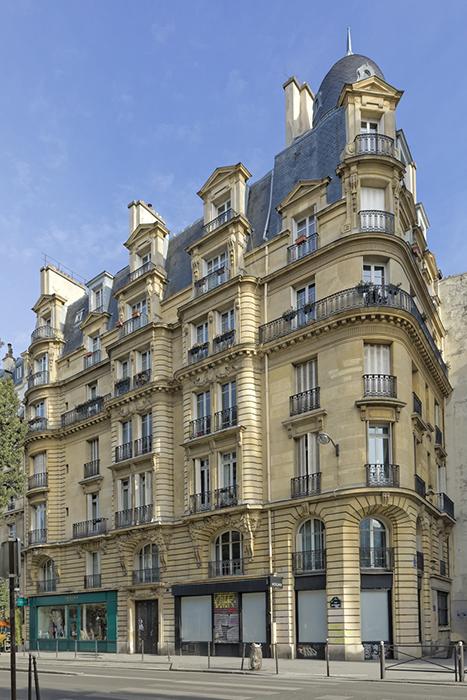 Albert Walwein (architecte 1851-1916), rue Beaubourg (96), conco