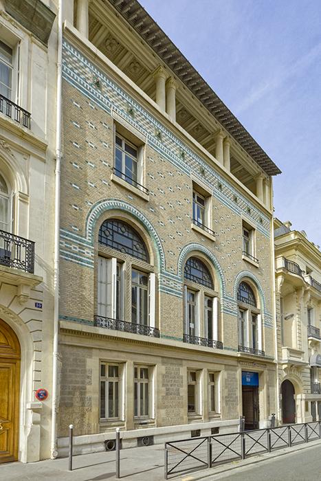 rue de Lota (8), Concours de façades 1899, Richard Bouwens van