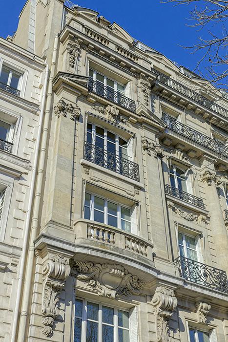 Avenue Franklin Roosevelt (39), Concours de façade 1898, Paris