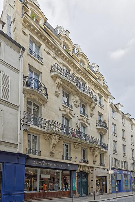 Georges Debrie (architecte 1856-1909), rue du Roi-de-Sicile (24)