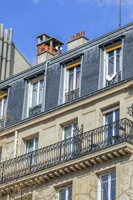 Boulevard de la Villette (78), Paris 75019, Michel Rabier (archi