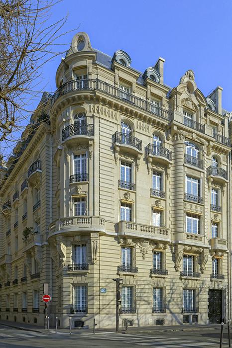Avenue de Breteuil (17), Concours de façades 1899, Alexandre Ma