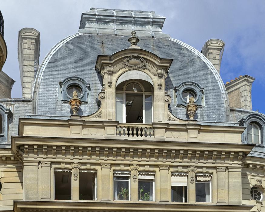 Concours de façade 1901, Paris 75008, Paul Noël (architecte ??