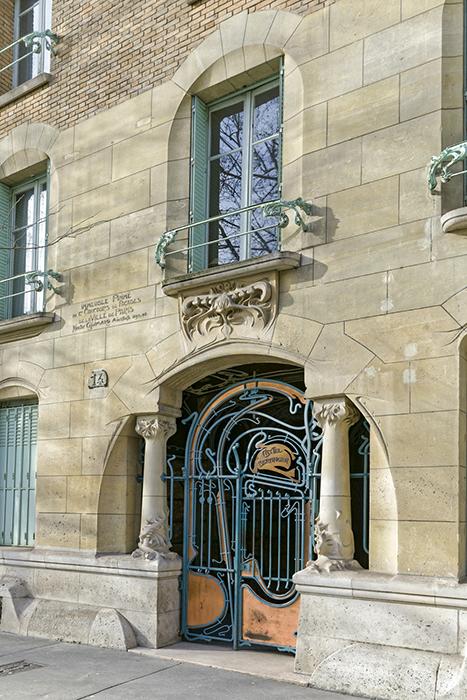 Alexandre Bigot (céramiste 1862-1927), Art nouveau, Castel Bera