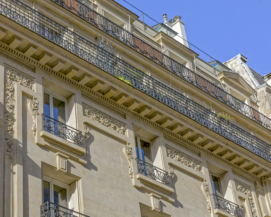 rue de Grenelle (204), Concours de façades 1898, Louis-Pierre M