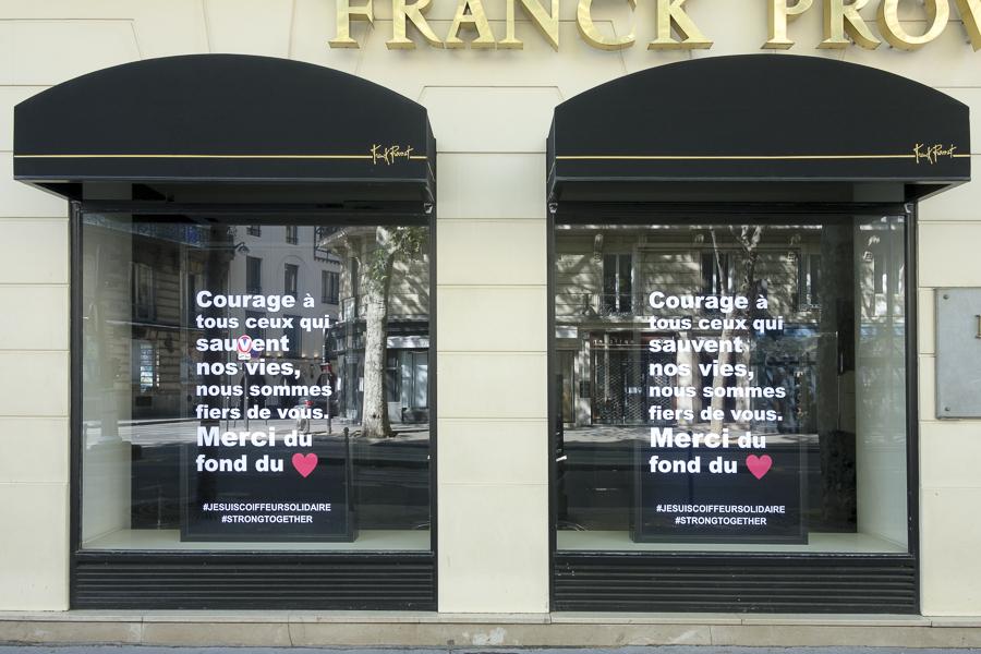 Paris 75005, Coronavirus, confinement, Covid 19, Avenue Franklin