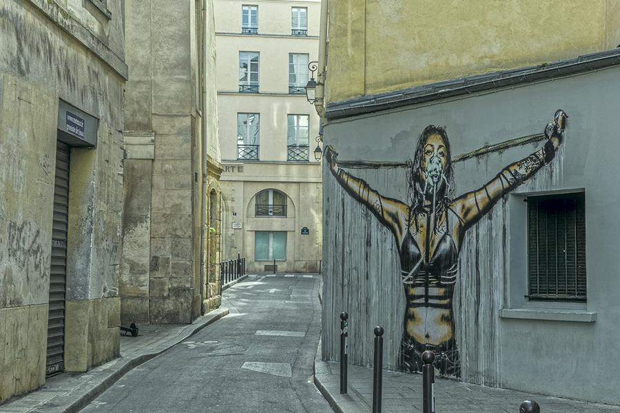 graffittis, Paris 75002, Streetart, rue du croissant,