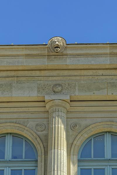 façade, Gare du Nord, Hittorff (architecte 1792-1867), Paris 75