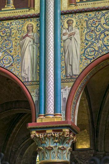 Place Saint-Germain-des-Prés, église Saint-Germain-des-Prés,