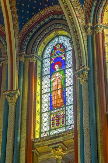 église Saint-Germain-des-Prés, Chœur des moines, Hippolyte Fl