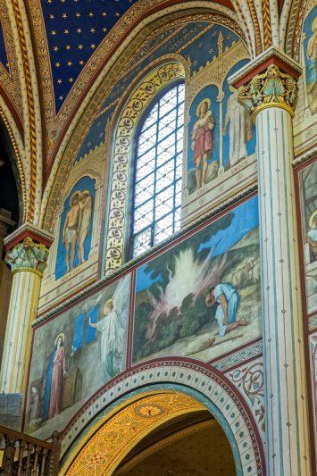 église Saint-Germain-des-Prés, nef, Hippolyte Flandrin (peintr