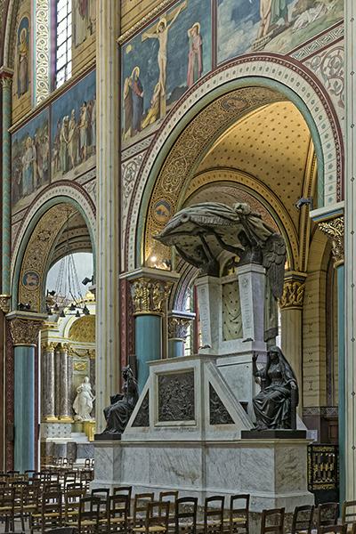 Alexandre Denuelle (peintre 1818-1879), église Saint-Germain-de