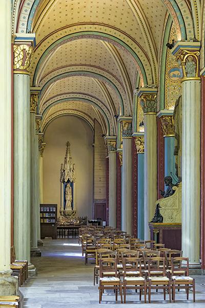 bas-côté Sud, église Saint-Germain-des-Prés, Paris 75006, Pl