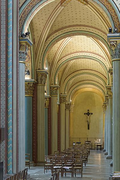 bas-côté Nord, église Saint-Germain-des-Prés, Paris 75006, P