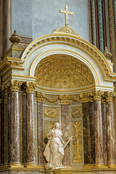 église Saint-Germain-des-Prés, Hippolyte Flandrin (peintre 180
