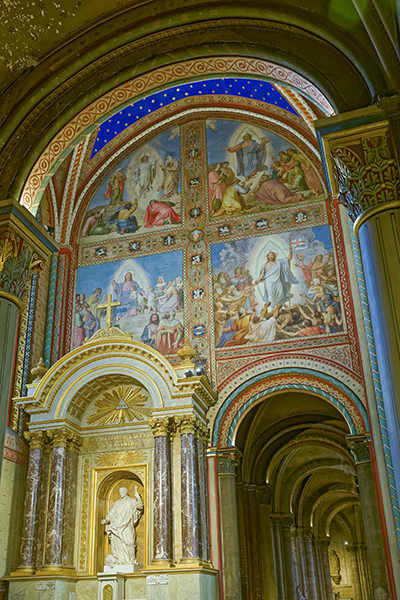 Transept nord, Saint François-Xavier, Guillaume Coustou le jeun