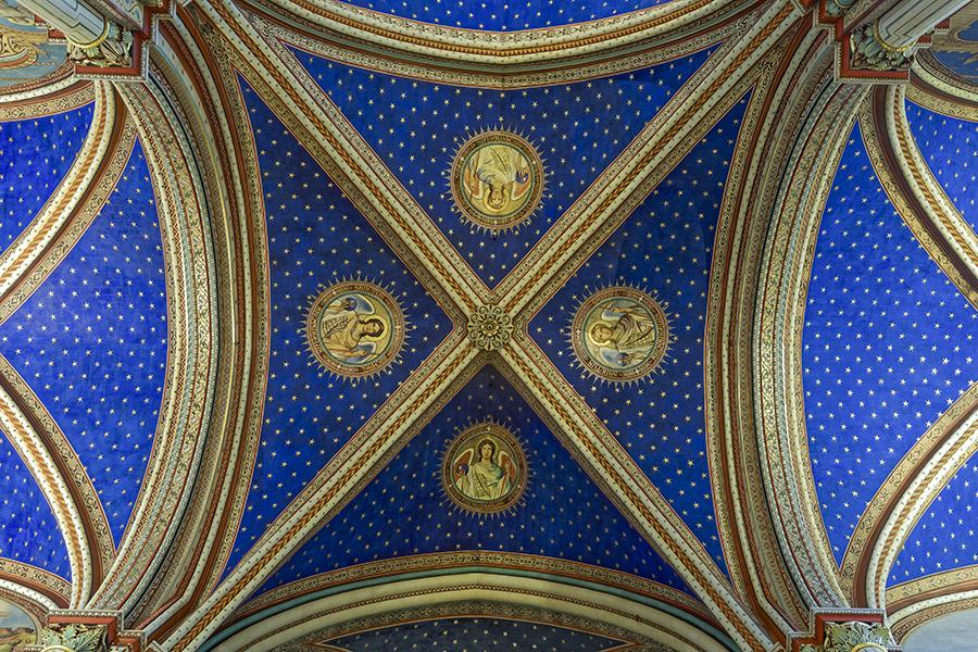croisée du transept, intertransept, église Saint-Germain-des-P